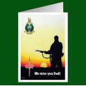 Royal Marines Commando Miss you Dad
