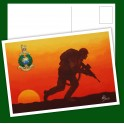 Royal Marines Commando Patrol Post Card