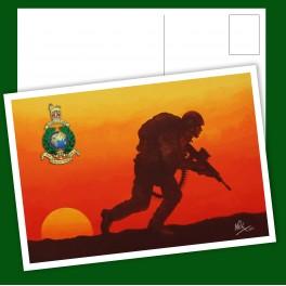 Royal Marines Commando Patrol Post Card