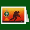 Royal Marines Patrol with Crest