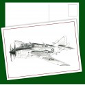 Gannet Aircraft Post Card