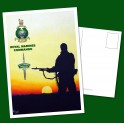Royal Marines Commando Post Card