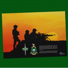 Military Poster Print Action