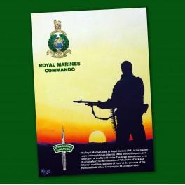 Royal Marine Poster