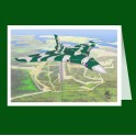 Avro Vulcan XM607 Greeting Card