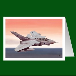 Tornado GR4 greeting card
