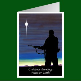Royal Marines Christmas Card