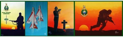 Military Canvas Prints