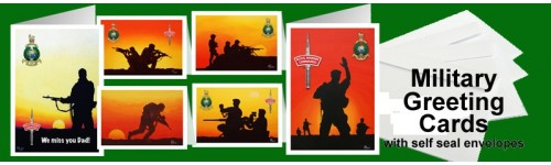 Military Fine Art Greetings Cards