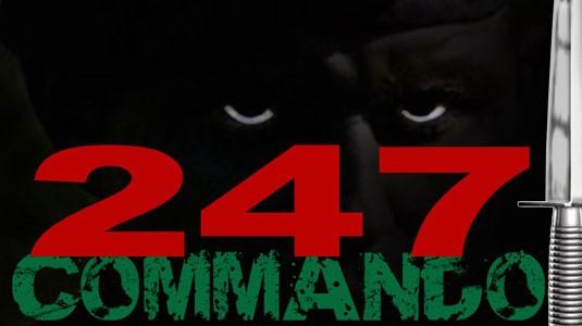 247 commando logo